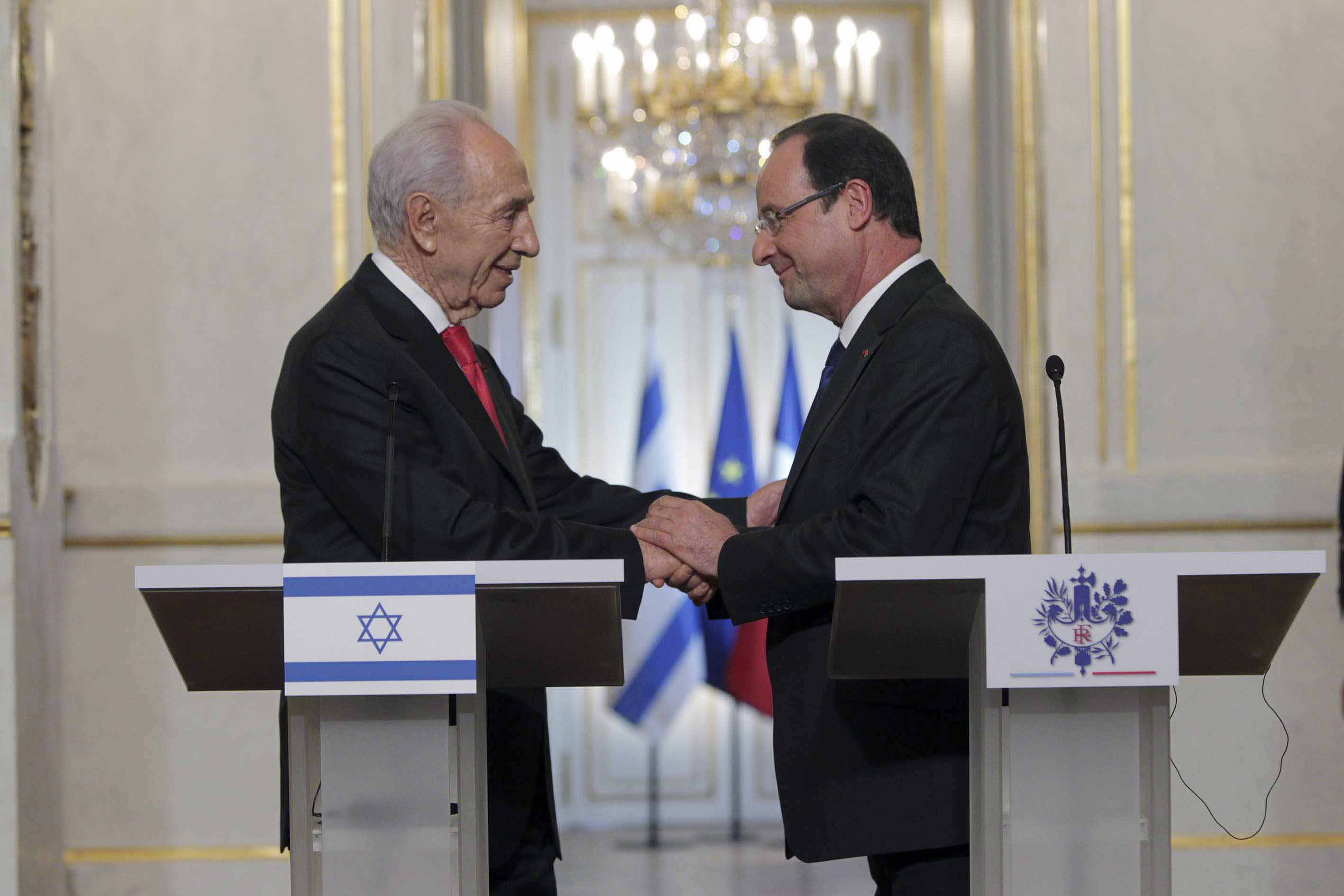 Le pr sident de la r publique fran ois hollande a re u m for Chambre de commerce france israel