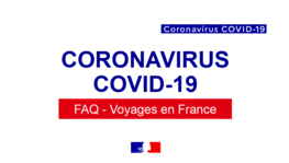 Voyages vers la France : documents de voyage, tests Covid-19, (...)
